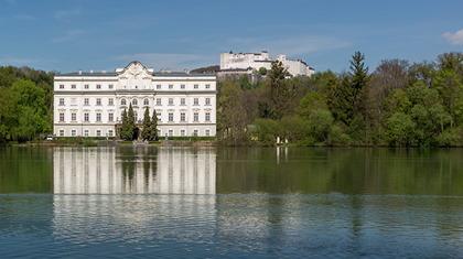 Slottet Leopoldskron i Salzburg