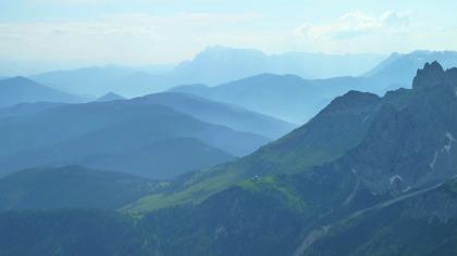 Utsikt från Dachsteinmassivet mot Hochkönig © Austria Travel - Rusner