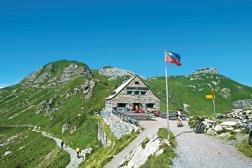 Pfälzerhütte i Liechtenstein