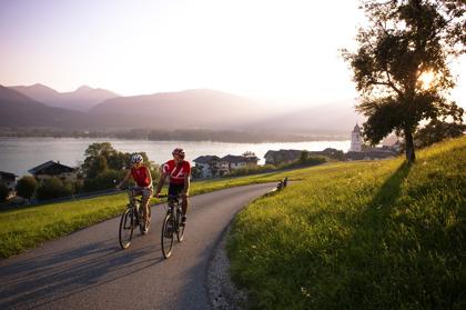 Cykla utan packning i vackra Österrike © OÖ.Tourismus / Röbl
