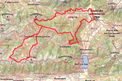 Klicka på kartan för detaljerad rutt. Observera att det finns alternativa rutter.