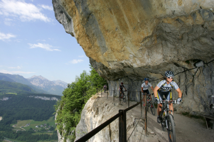 Cykelresa: Mountainbike vid Dachstein