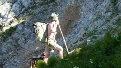 """Somliga vandrar """"retro-style"""" med gamla ryggsäckar © Austria Travel - Rusner"""