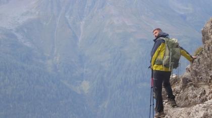 14-dagars vandring från Garmisch till Bregenz. Allt får plats i ryggsäcken! © Austria Travel - Rusner