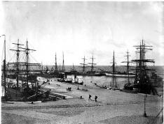 YSTADS HAMN - 1800-talet