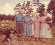 Karl,Greta, Gunilla, Karin och Anna