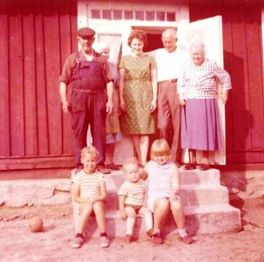 Nils, Anna, Birgit, Per,Gunilla, Tore, Lars, Inger