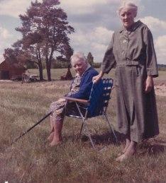 Gunilla och Karin