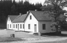 Skolan i Borrestad där barnen Granholm gick