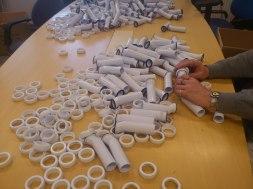 Montering av plastdetaljer