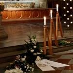 Bild från Gun Bergqvist begravning...