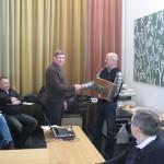 Åke Hallberg vinner Silverpluntan
