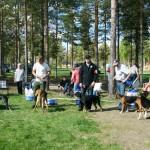 BIS-uppställningen Foto: Helge Koivusaari.