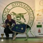 Segrare 2011 & 2013 SEJCH SEUCH Högklintens A'SAlix ägare, Ewa Steij Edman Vilhelmina