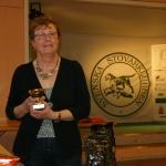 Ingeborg Stensdotter med Lappmyrbergets Ronja