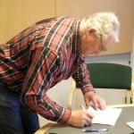 Sven-Olov Pettersson förbereder sig inför kollegie