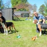 SEJCH Solstrimmans Finn-Rolex BIM äg, Charlie Lindqvist Vännäs & SEJCH Åivets Rinja BIR äg, Nils & Barbro Persson Lycksele