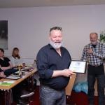 Mikke Nilsson får hedersmärket i Guld.