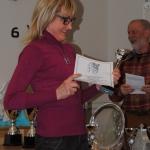 Joreälvens Ita blev Klubbmästare 2016 priset hämtas här av Marita Lindholm