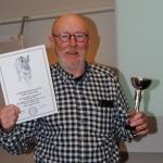 Solstrimmans Finn-Polka äg, Charlie Lindqvist fick Championatpriset för finsk stövare.