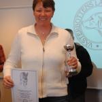 Japp äg, Christel Karlsson, fick Championatpriset för smålandsstövare