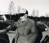 Klubbens förste ordförande Ivar Karlsson, Umeå