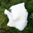 Får- och lammskinn - Babyskinn vitt