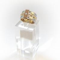 Ring i Silver o guld med en diamant