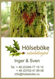 Vandringsstigar - tre vackra Hjärtestigar i Vildmarksbyn på Hölseböke Naturhälsogård mitt i Halland