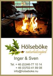 Laga mat över öppen eld i Grillkåtan - Vildmarksbyn Hölseböke Naturhälsogård Halland
