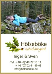 Natur retrear - aktivitet för konferens & kickoff i Hölseböke Naturhälsogård