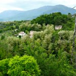 Abruzzo verde - Det gröna Abruzzo, utsikt från balkongen