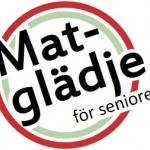 Logga MATGLÄDJE för seniorer