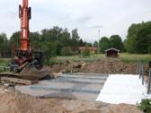 Förhöjd markbädd 100 m2