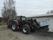 Traktor med lastväxlarkärra