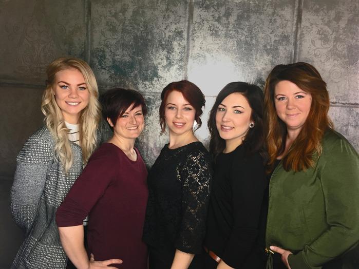 Stina, Emma, Yessica, Sanna & Maria
