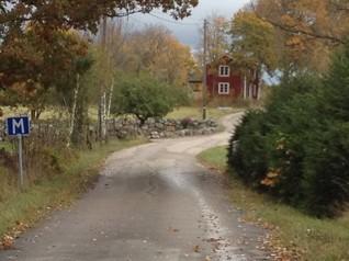 pittoreska små byar och slingrande grusvägar.....
