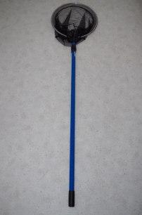 1. Håv 34 cm med teleskopskaft 145-240 cm