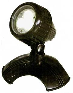 12. LED Spot Power 1*3 W plast
