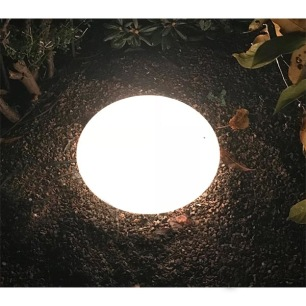 Ljusglob oval 43cm