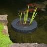 Planteringsö rund 25cm till rund 14 cm korg
