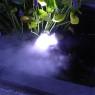 Flytande Rökmaskin med 3 utblås och färgskiftande LED
