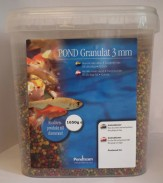 12. Pondgranulat 3mm, 5,4 liter 1650 g