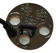 12. Rökmaskin med fem utblås och LED