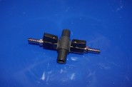 18. Syrefördelare 9mm 2 utgångar med 19mm vidarematning