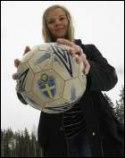 Greta skall ta upp målvaktskampen med Jenny Nilsson.