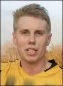 "Emil Norrman - ung coach för Kuben 3. Foto: Pappa Roger ""Kina"" Norrman."