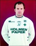 Eng ung Jonas Wal-lerstedt i IFK Norr-köpings tröja.