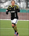 """""""Honken"""" satte två mål i premi-ären för sitt AIK, ettan och trean. Foto: Anders H."""