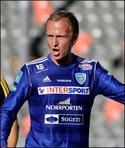 Erik Löfgren, årets lagkapten i SFK.